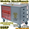 MOBILE WORKBENCH TOOL CARTS 99RP