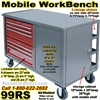 MOBILE TOOL WORKBENCH CART 99RS