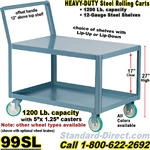 STEEL SERVICE CARTS 99SL