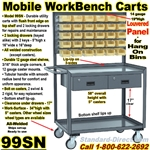 MOBILE BIN WORKBENCH CARTS 99JW