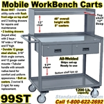 MOBILE WORKBENCH CARTS 99ST