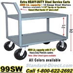 STEEL SERVICE CARTS 99SW