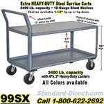 STEEL SERVICE CARTS 99SX
