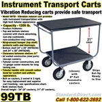 INSTRUMENT CARTS & TRUCKS 99TB