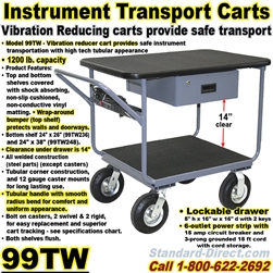INSTRUMENT CARTS & TRUCKS 99TW