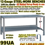 HEAVY DUTY WORK BENCHES / 99UA
