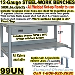 HEAVY DUTY WORK BENCHES / 99UN