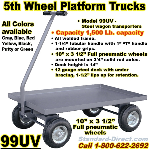 Steel Platform Trucks 99pt