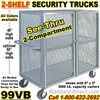 SEE THRU STEEL SECURITY TRUCKS 99VB