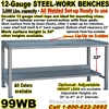 HEAVY DUTY WORK BENCHES / 99WB