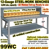 HEAVY DUTY WORK BENCHES / 99WC