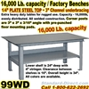EXTRA HEAVY DUTY WORK BENCHES / 99WD