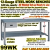 HEAVY DUTY WORK BENCHES / 99WK