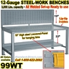 HEAVY DUTY WORK BENCHES / 99WT