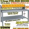 HEAVY DUTY WORK BENCHES / 99WW