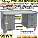 WORK BENCH STEEL DESKS / 99WY