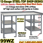 WORK BENCH STEEL DESKS / 99WZ