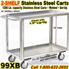 STAINLESS STEEL CARTS / 99XB