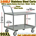 STAINLESS STEEL CARTS / 99XL