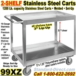 STAINLESS STEEL CARTS / 99XZ