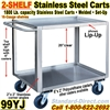 STAINLESS STEEL CARTS / 99YJ