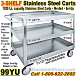STAINLESS STEEL CARTS / 99YU