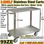 STAINLESS STEEL CARTS / 99ZE