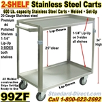 STAINLESS STEEL CARTS / 99ZF