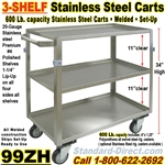 STAINLESS STEEL CARTS / 99ZH