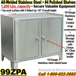 STAINLESS STEEL BENCH CABINETS / ZPA
