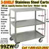STAINLESS STEEL CARTS / 99ZW
