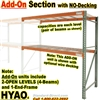 Pallet Racks, ADD-ON units OPEN / HYAO