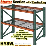 Pallet Racks with Wire-Decking / HYSW