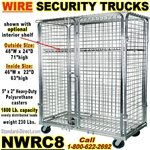 SEE THRU WIRE SECURITY TRUCKS NWRC8