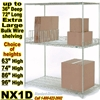 Extra Large Chrome Wire Shelving 3-Shelf / NX1D