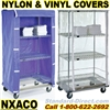 Nylon Covers  for Wire Shelf Trucks / NXACO