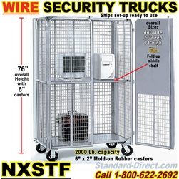 SEE THRU WIRE SECURITY TRUCKS NXSTF