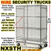 SEE THRU WIRE SECURITY TRUCKS NXSTH