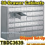 36 Drawer Industrial Parts Cabinets / TBDC3639