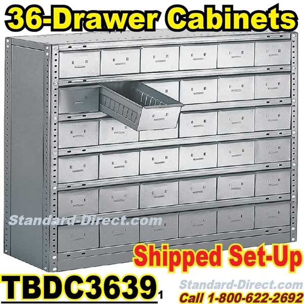 Drawer Industrial Parts Cabinets TBDC - Parts cabinets