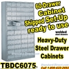 60 Drawer Industrial Parts Cabinets / TBDC6075