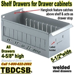 Steel Shelf Drawers and Dividers / TBDCSB