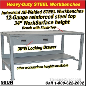 Groovy Steel Work Benches Onthecornerstone Fun Painted Chair Ideas Images Onthecornerstoneorg