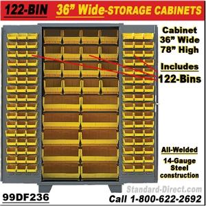 170 Bin Storage Cabinets 99dz236