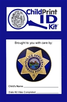 100 Custom ChildPrint ID Kits, Moraga Police Department