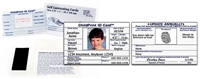(1) ChildPrint ID Card, UPS Ground Shipping