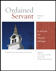 Ordained Servant - 2007