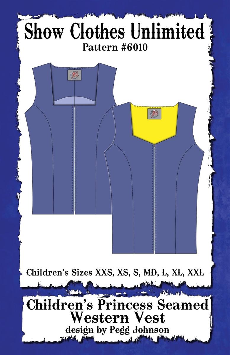 6010 western vest pattern child jeuxipadfo Images