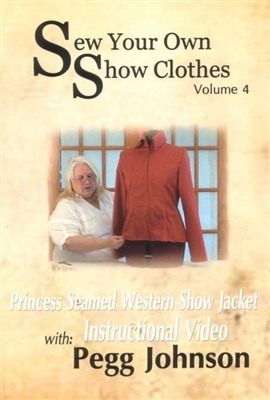 DVD Princess Seamed Western Show Jacket