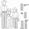 S2250 -Womens/Girls Western Showmanship Pants Pattern